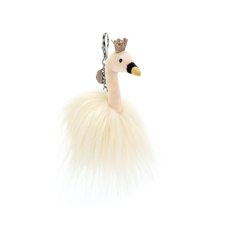 Fancy Swan Bag Charm
