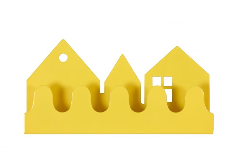Village Coat rack Yellow