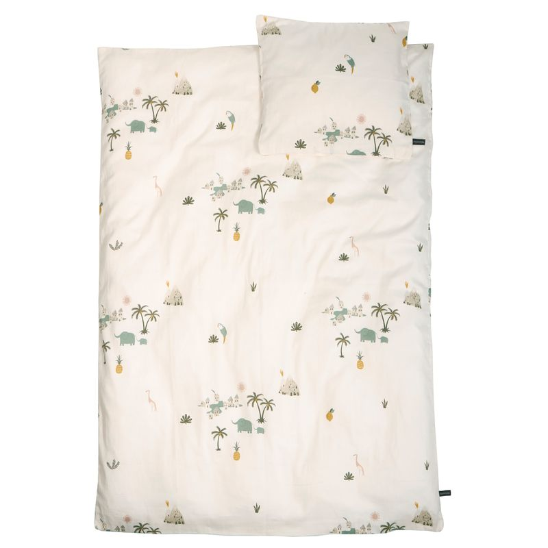Baby Bedding - Gots - Tropical