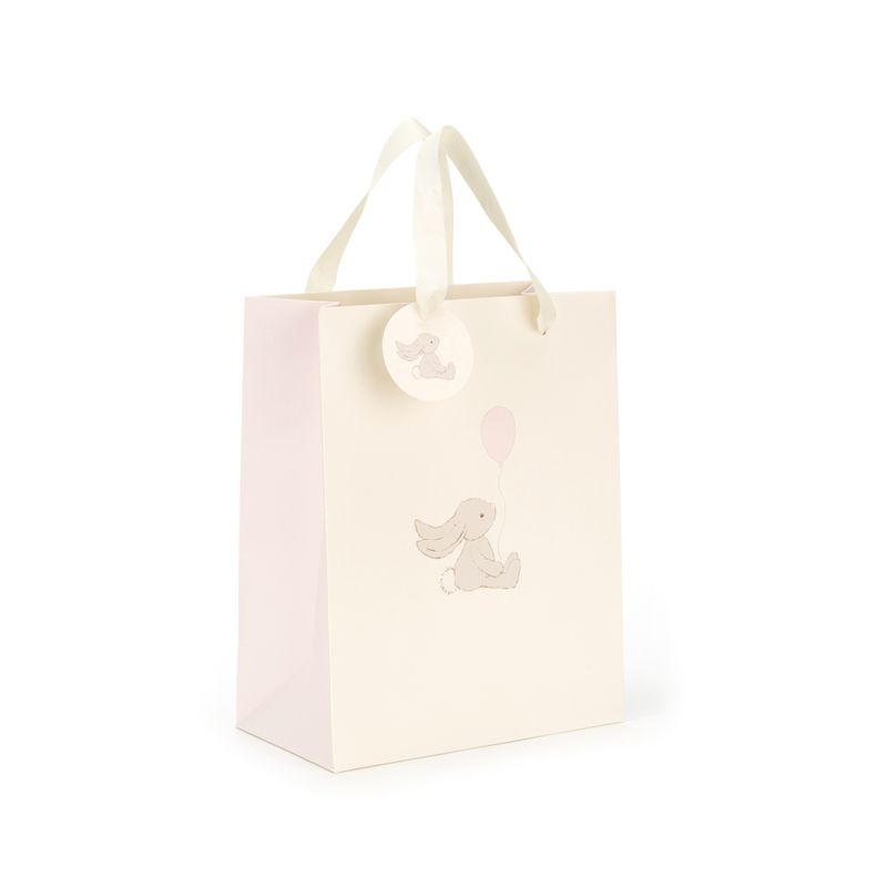 Bashful Bunny Pink Gift Bag