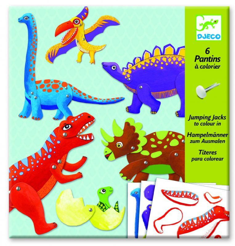 Small puppets, Dinos