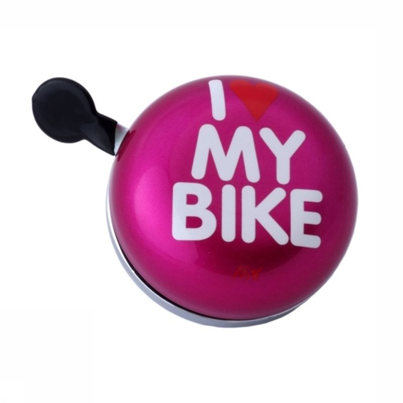 Liix Ding Dong Bell I Love My Bike Pink