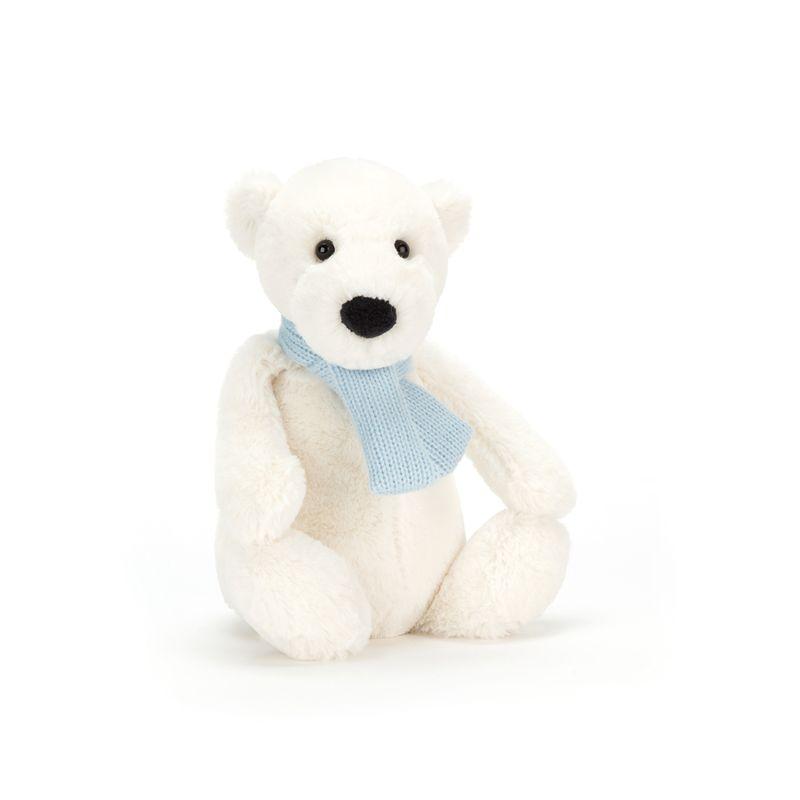 Bashful Winter Polar Bear