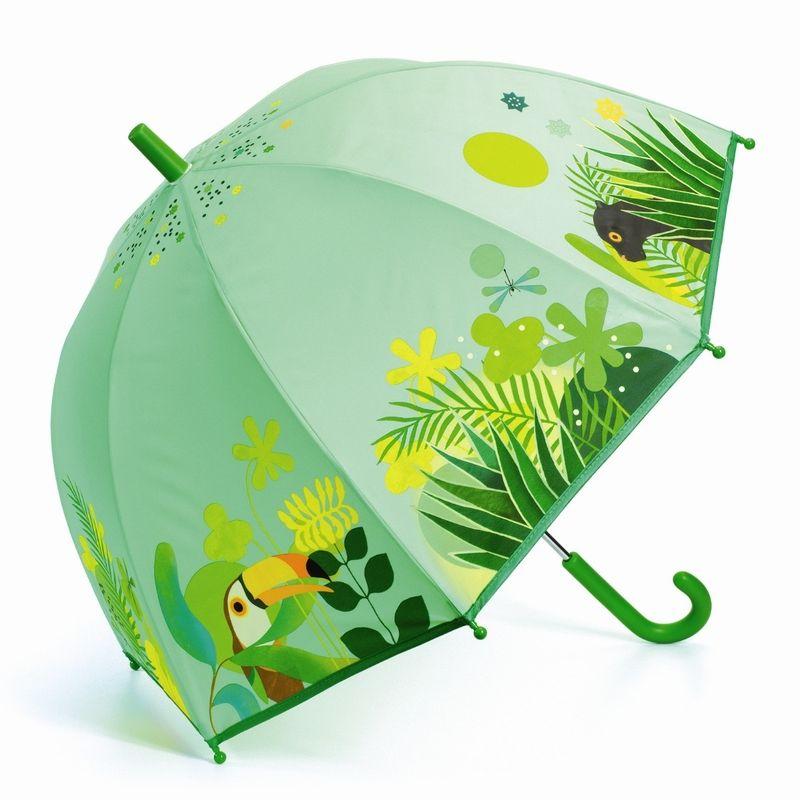 Umbrella. Tropical jungle