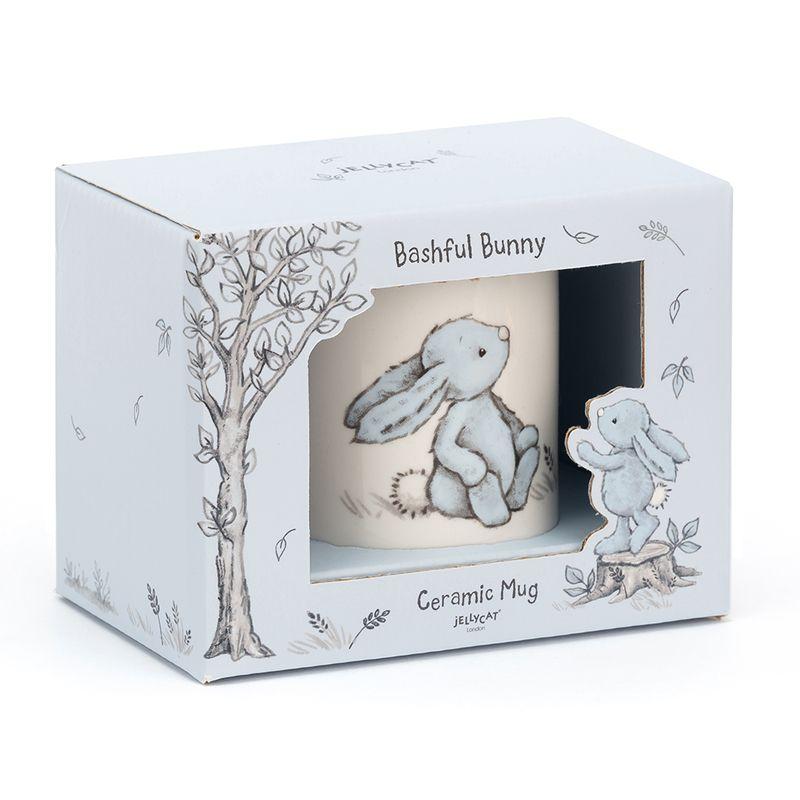 Bashful Blue Bunny Mug