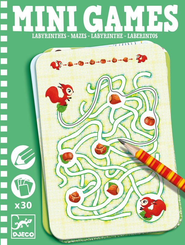 Mini games, labyrinthes by Ariane