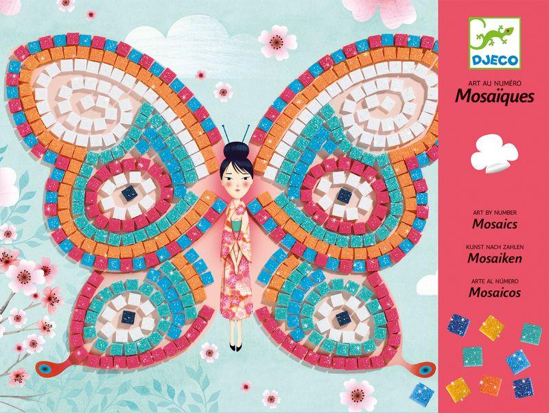 Mosaic, Butterflies