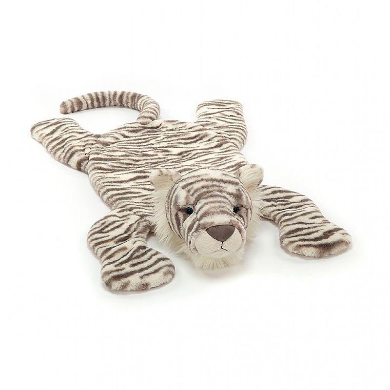 Sacha Snow Tiger Playmat