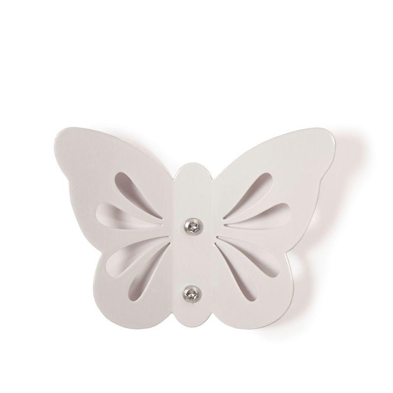 Butterfly Hook - White