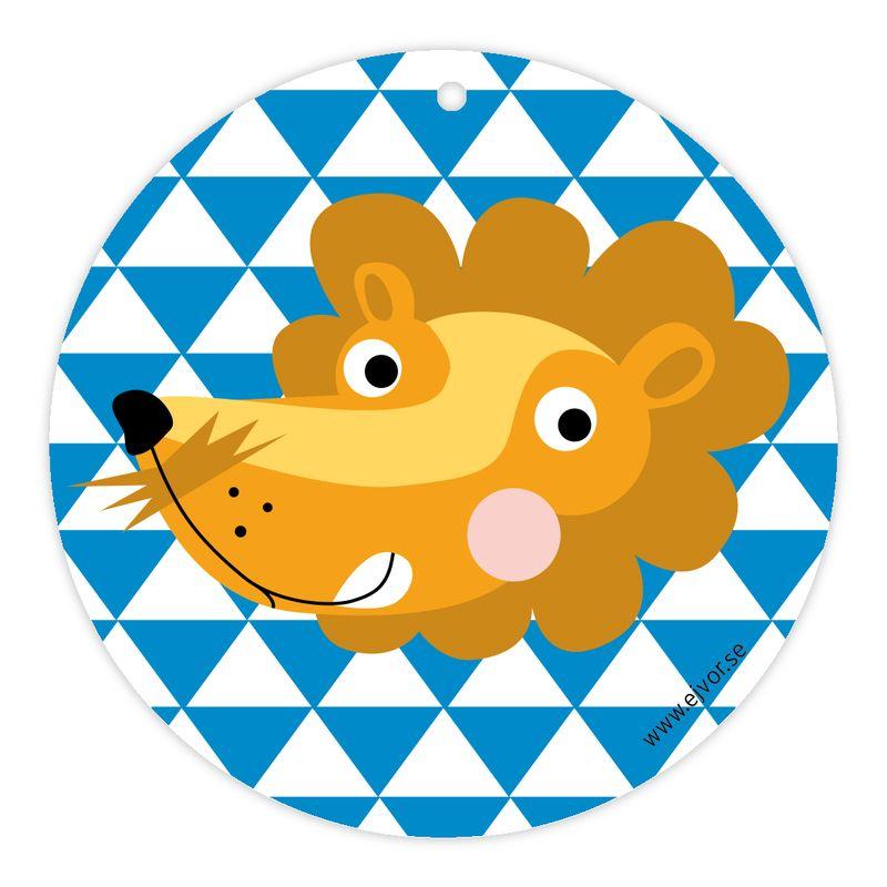 Djurkort Lejon