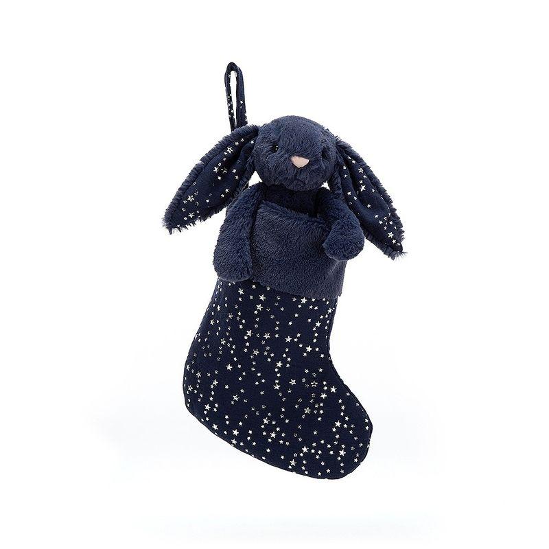 Bashful Stardust Bunny Stocking