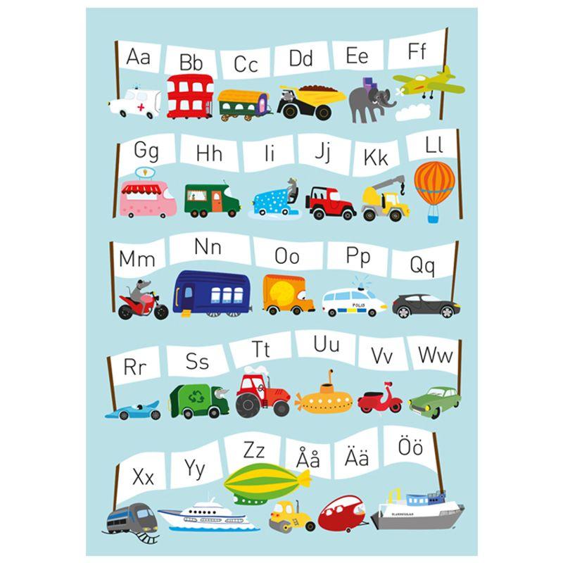 Poster ABC fordon