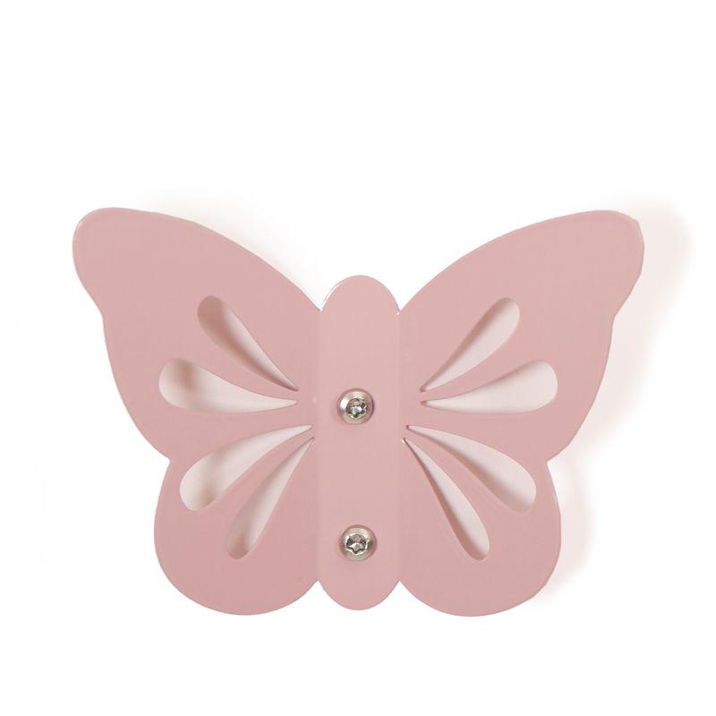 Butterfly Hook - Pale Rose