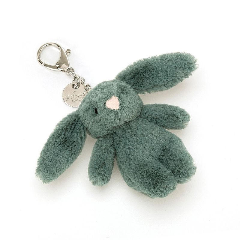 Bashful Forest Bunny Bag Charm