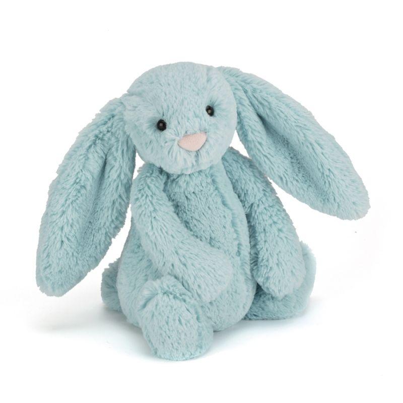 Bashful Aqua Bunny Small