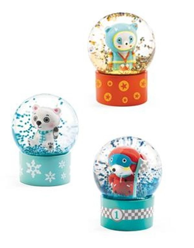 Mini snow globe, So fun