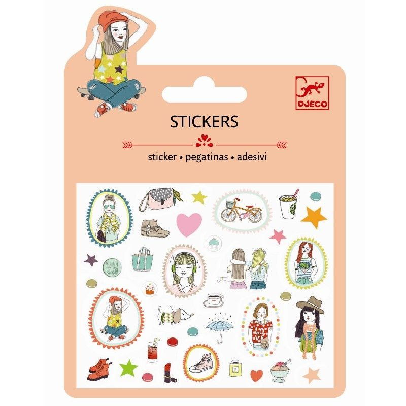 Stickers Puffy - Fashion