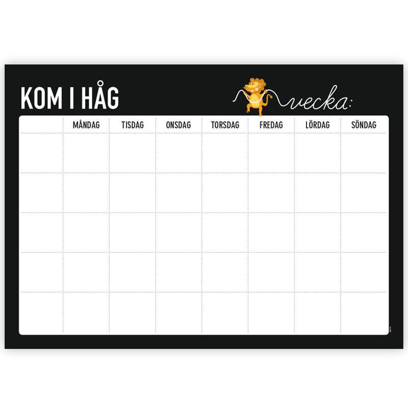 Poster Kom Ihåg