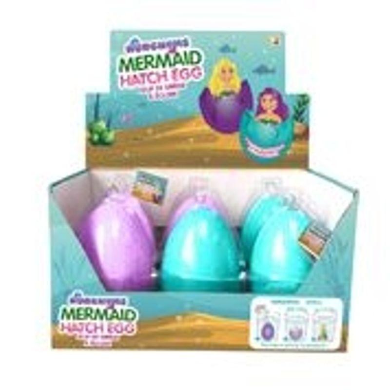Large Hatching Mermaid Egg