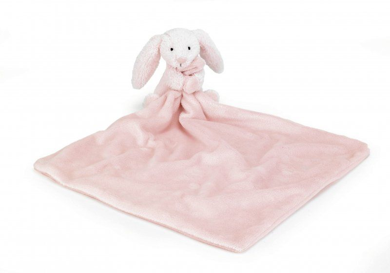 Bashful Pink Bunny Blankie