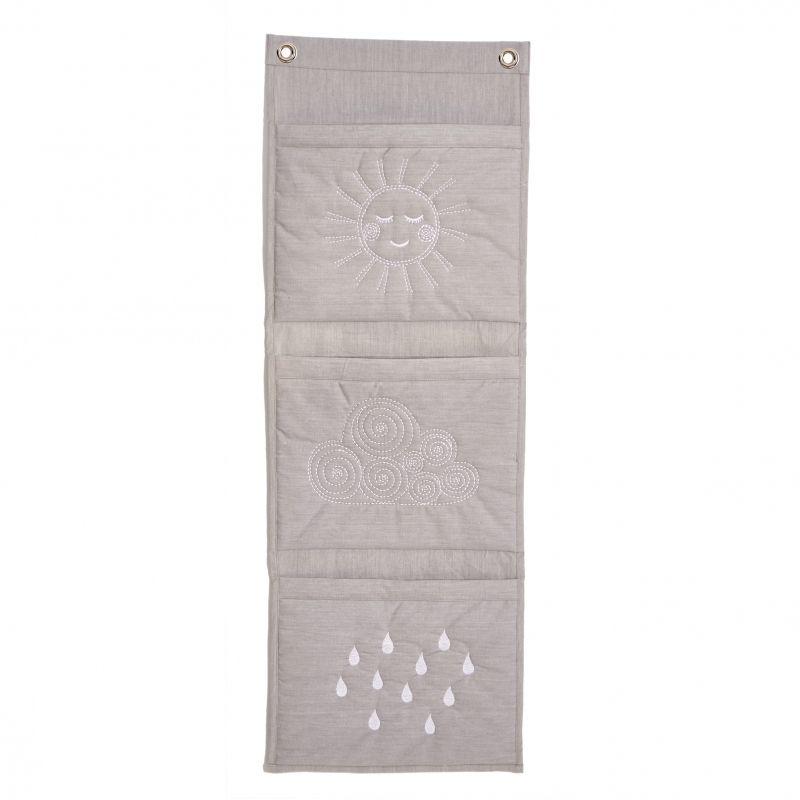 Wall Pockets - Lodret Grey