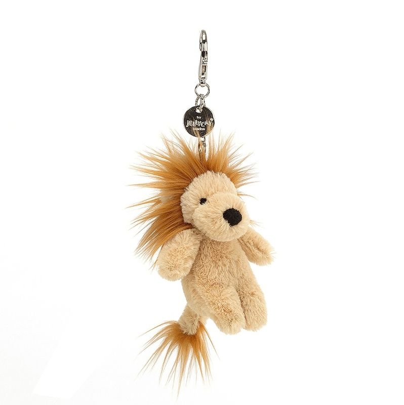 Bashful Lion Bag Charm