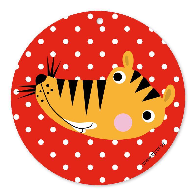 Djurkort Tiger