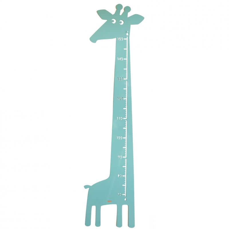 Giraffe Measure Pastel green