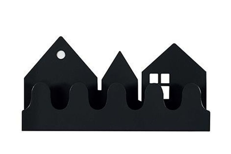 Village Coat rack Black
