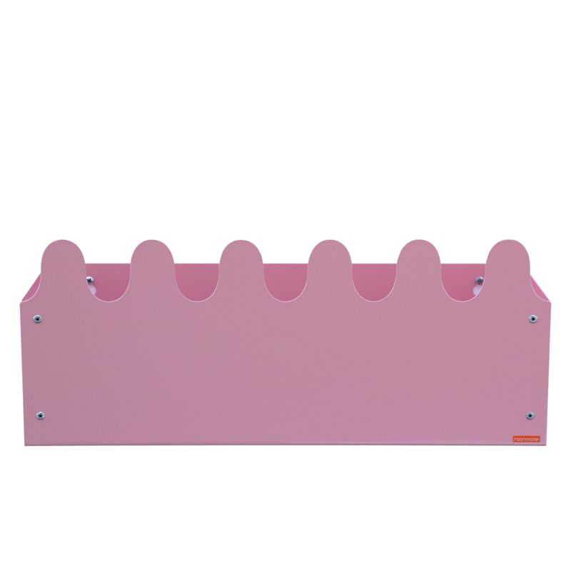 Sinus Box & Coat rack Pastel rose