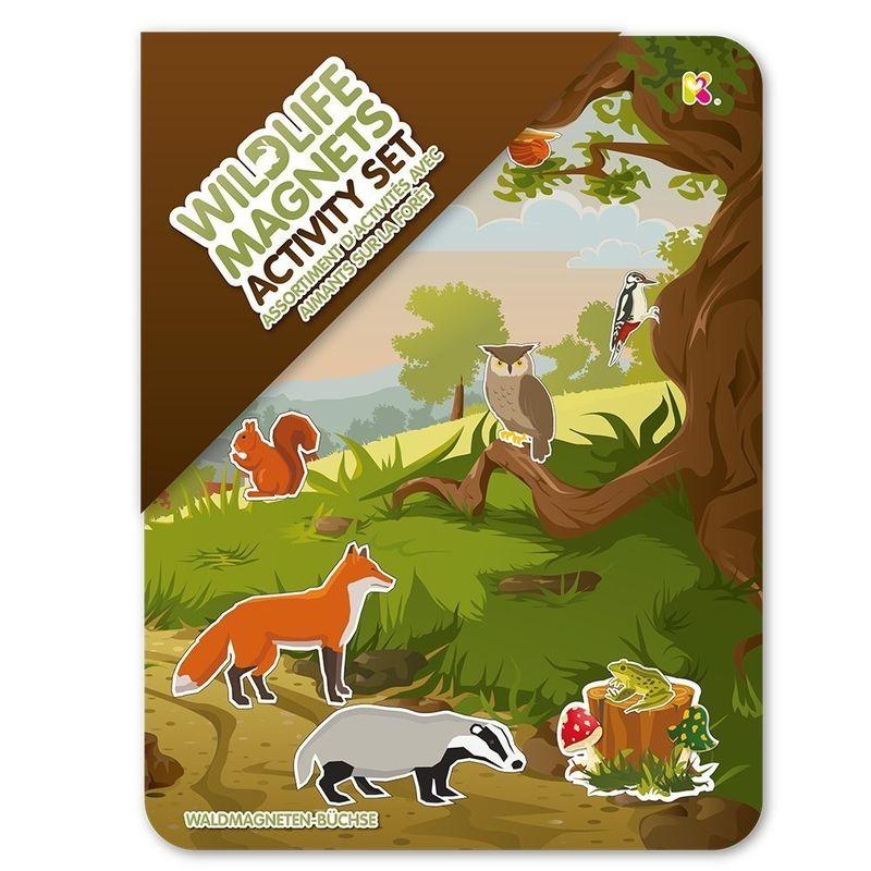 Woodland Magnets Activity Tin Set