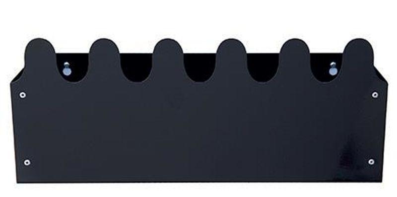 Sinus Box & Coat rack Black