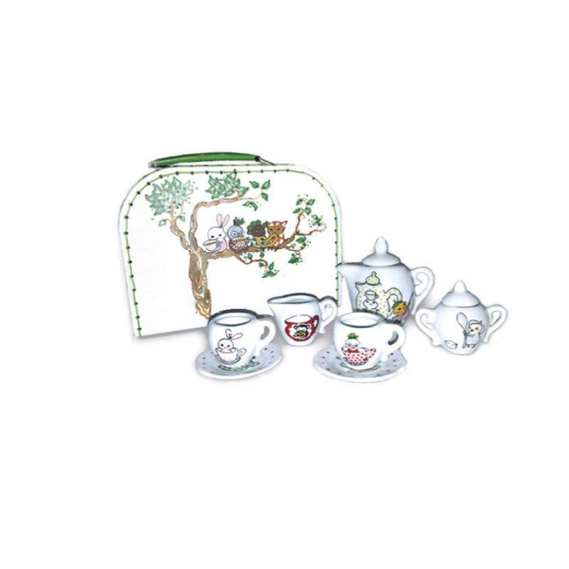 Brokiga Tea Set