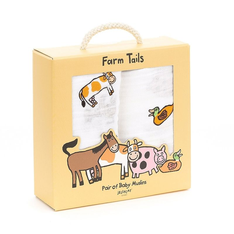 Farm Tails Pair of Muslins