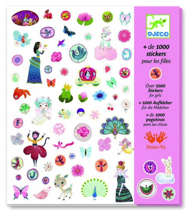 1000 stickers sweet