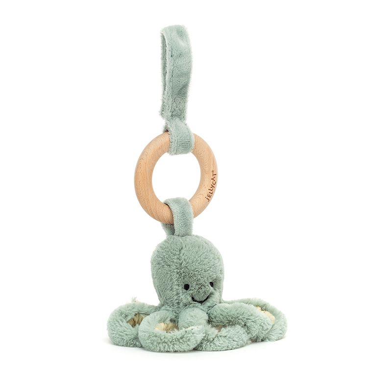 Odyssey Octopus Wooden Ring Toy