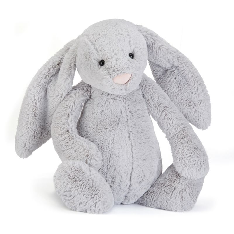 Bashful Silver Bunny Huge