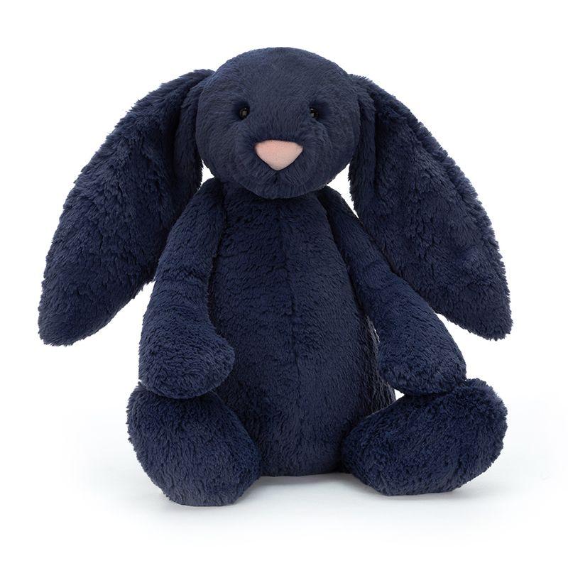 Bashful Navy Bunny Huge