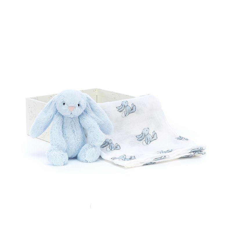 Bashful Blue Bunny Gift Set