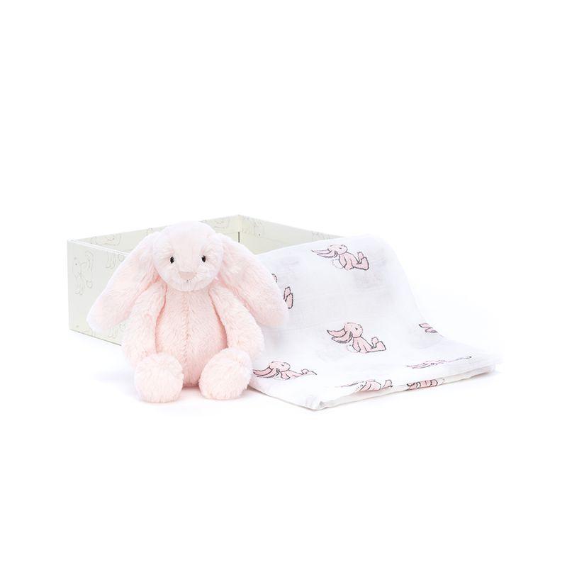 Bashful Pink Bunny Gift Set