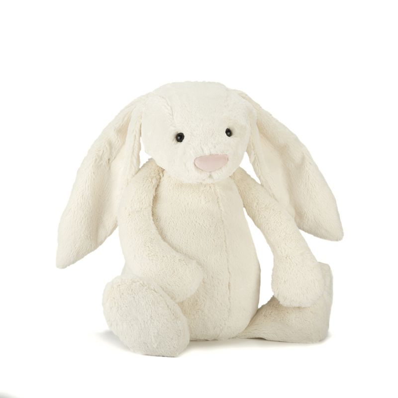 Bashful Cream Bunny Really Big