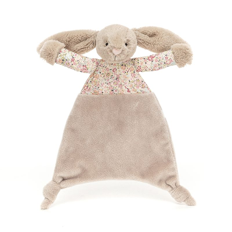 Blossom Bea Beige Bunny Comforter
