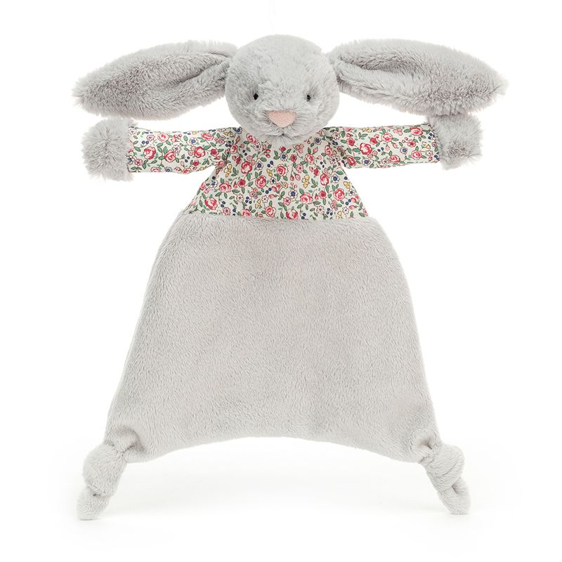 Blossom Silver Bunny Comforter