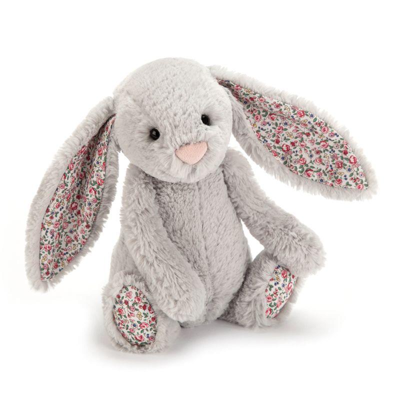 Bashful Blossom Silver Bunny Small