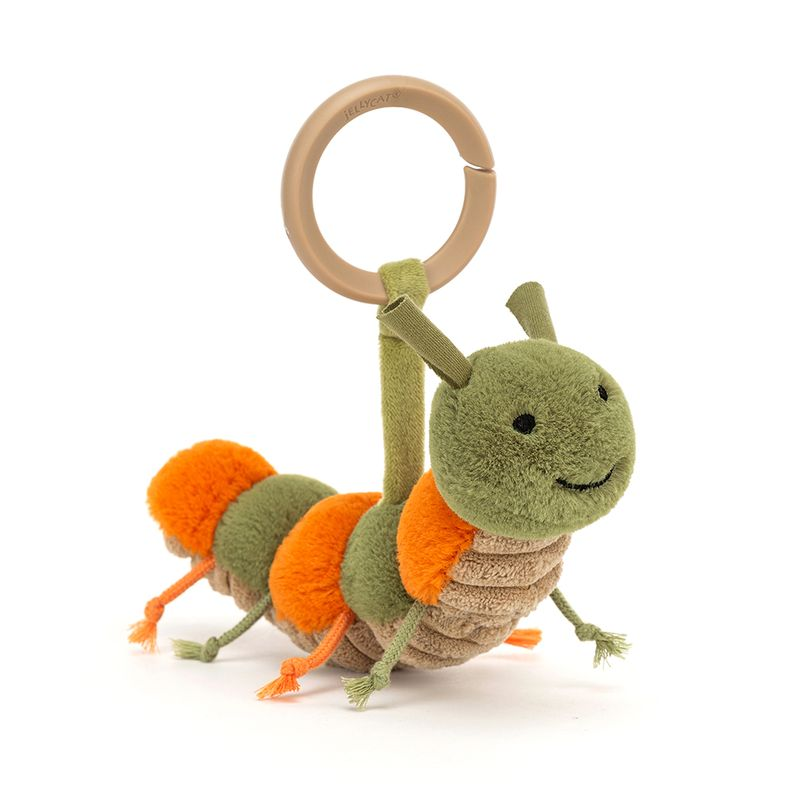Little Christopher Caterpillar Rattle