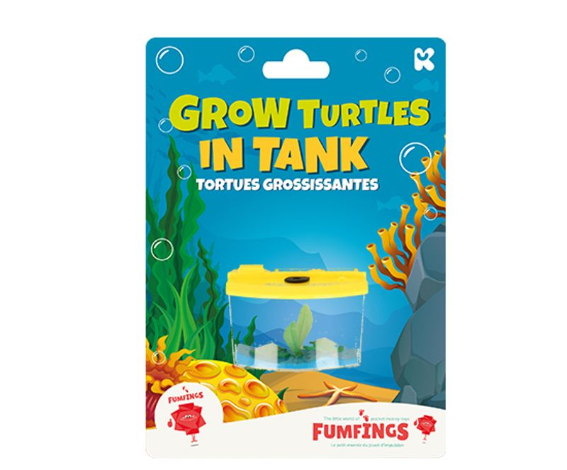 Growing Turtles in Tank