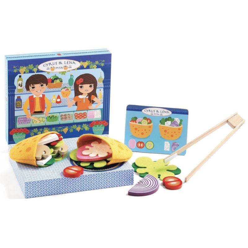 Cyrus & Lena - Make pitas with a menu