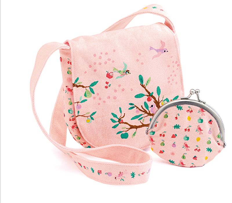Summer garden bag and purse