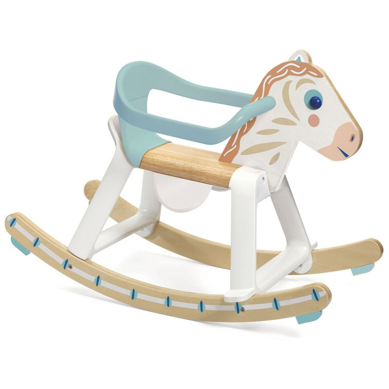 Rocking horse with removable arch