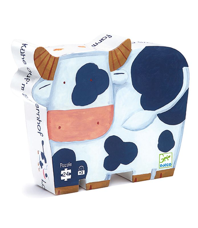 Cows on the farm, 24 pcs